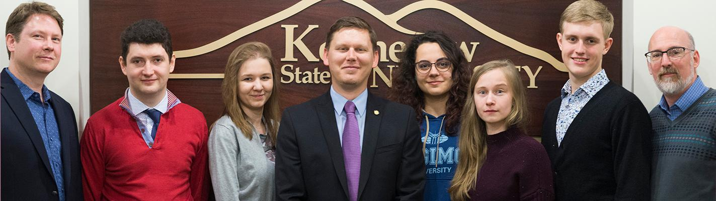 Russian Students visit KSU for Year of Russia Symposium