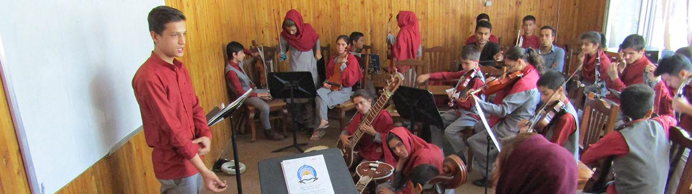 Bringing Music to Afghanistan